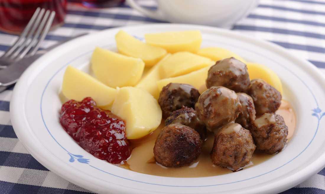 Köttbullar – gott till både pasta och potatis.