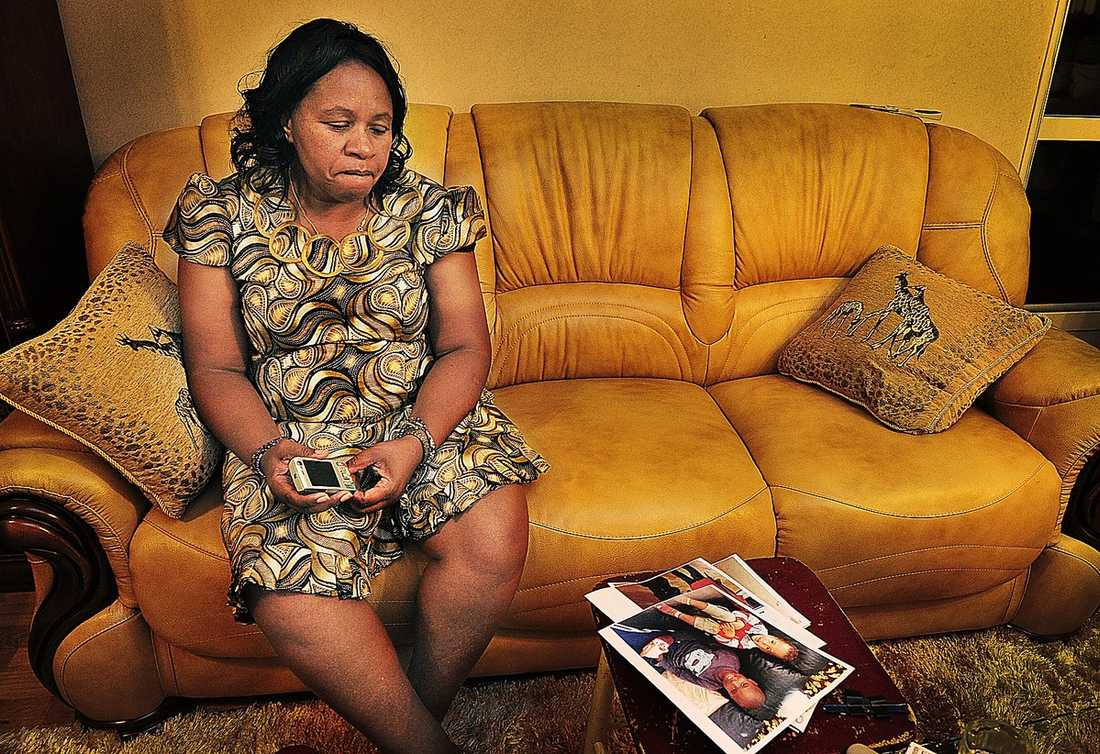 """""""Nu vet jag att det är hon. Nu kan jag börja bearbeta det här"""", sa Sophia Njoroge senare under dagen."""