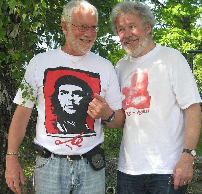 Hasse Nilsson och Sven Wollter.