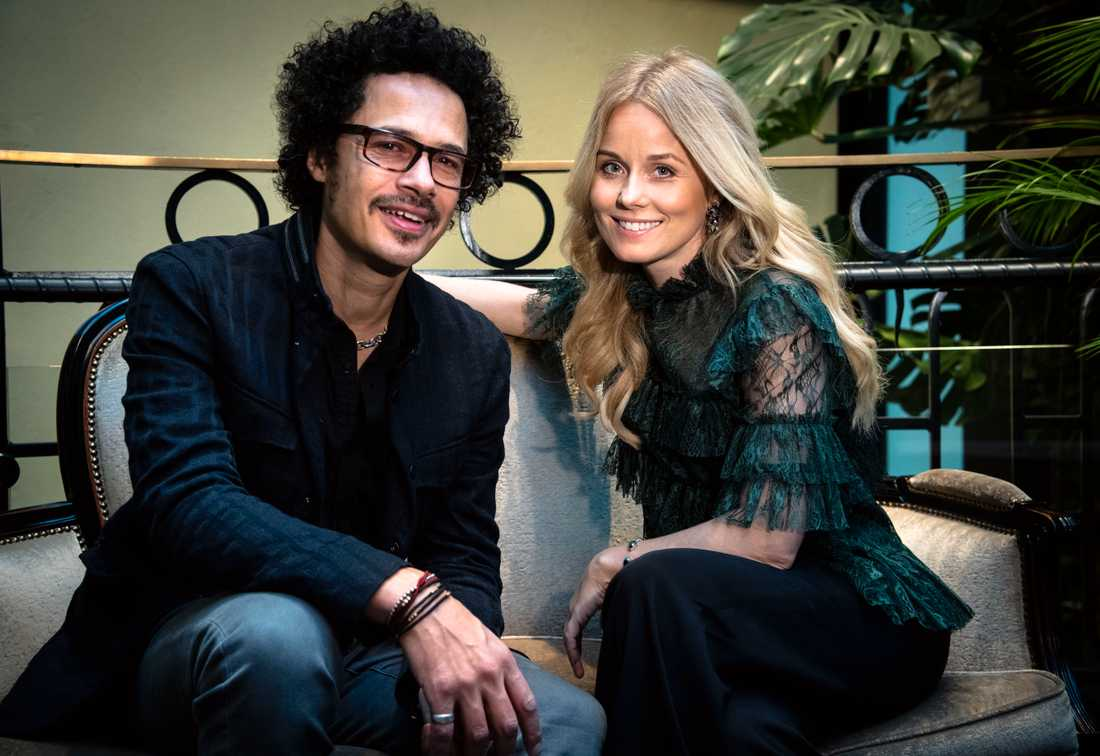 Helena af Sandeberg och Eagle-Eye Cherry.