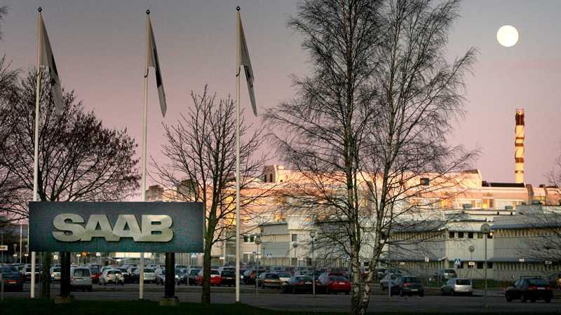 Saab fastigheter är värda nästan en miljard. Foto: Roger Lundsten