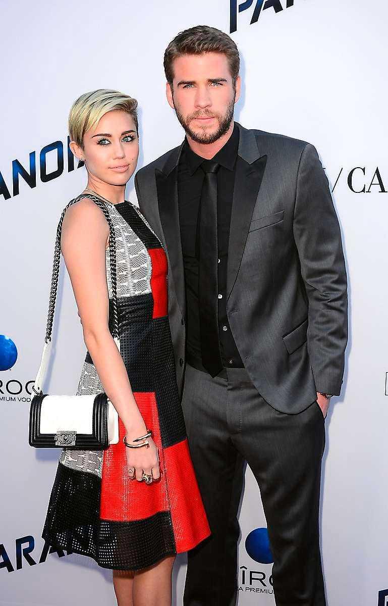Cyrus & Hemsworth.
