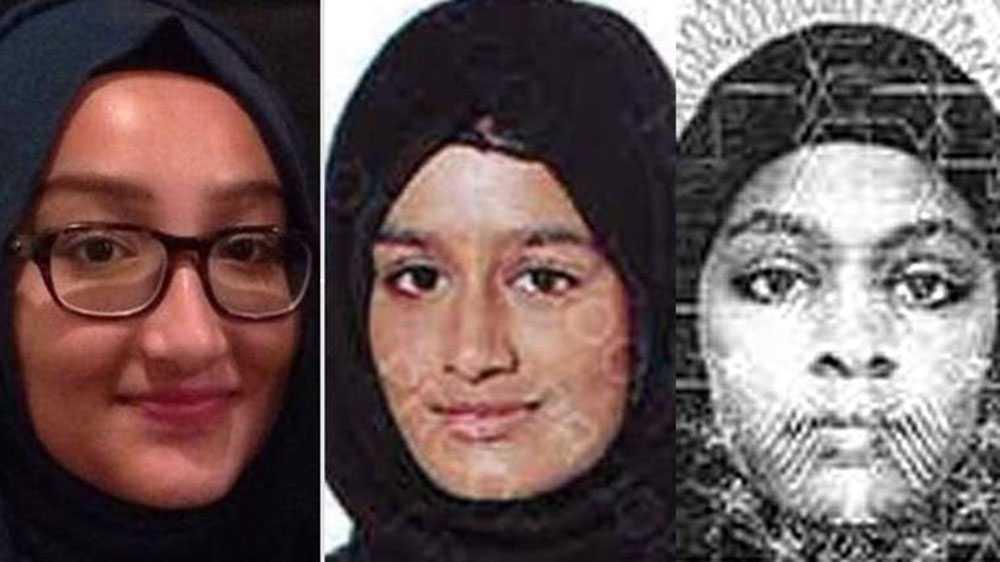 Kadiza, Shamima och Amira.