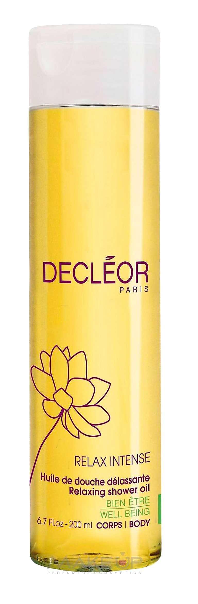 """""""Relaxing shower oil"""", Decléor, 289 kronor."""