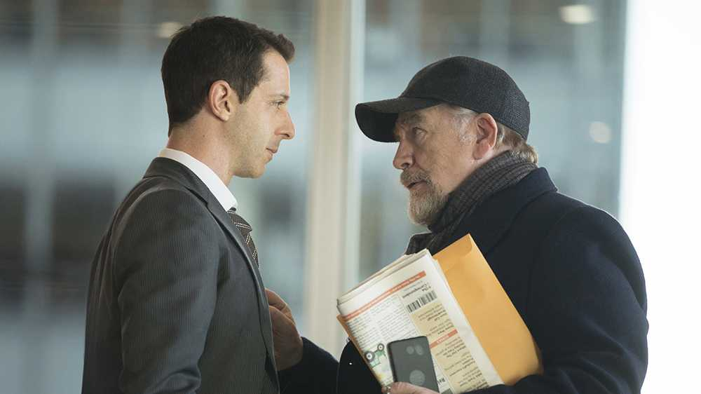 """Jeremy Strong och Brian Cox """"Succession"""""""