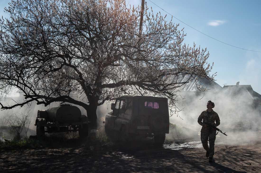 Konflikten om sjömännen ses som en del av kriget mellan Ukraina och Ryssland som pågått sedan 2014.