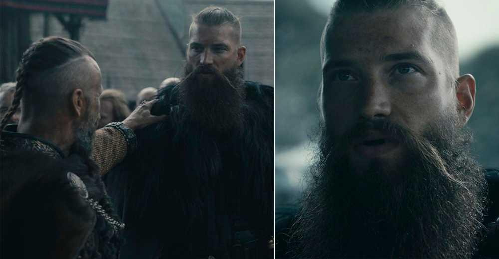 Brent Burns spelar karaktären Skane i tv-serien Vikings.