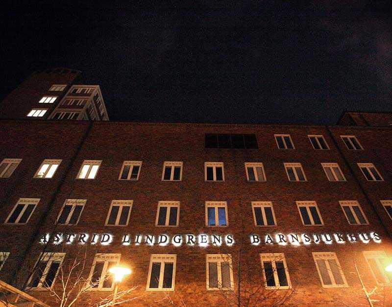 Astrid Lindgrens barnsjukhus.