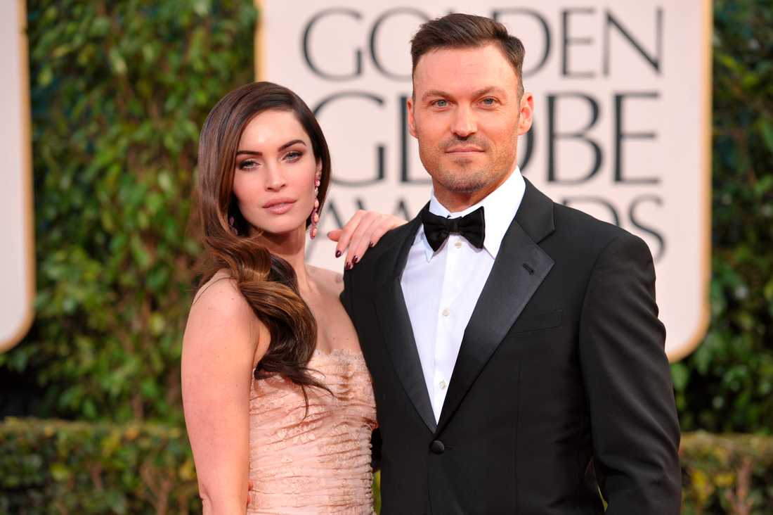 Megan Fox och Brian Austin Green.