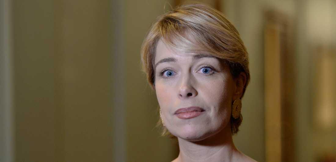 Ingen blir friskare av Annika Strandhälls politik.