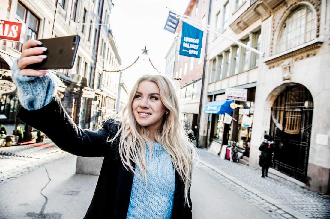 Therése Lindgren leder nomineringsligan. Arkivbild.