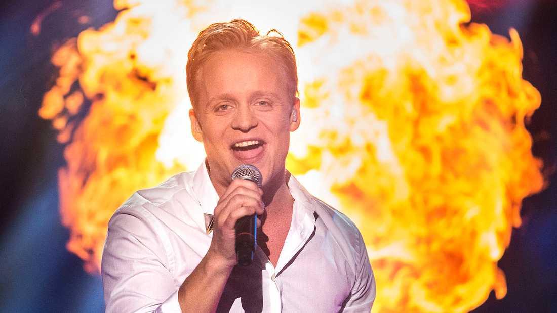 Andreas Weise i Melodifestivalen 2015.
