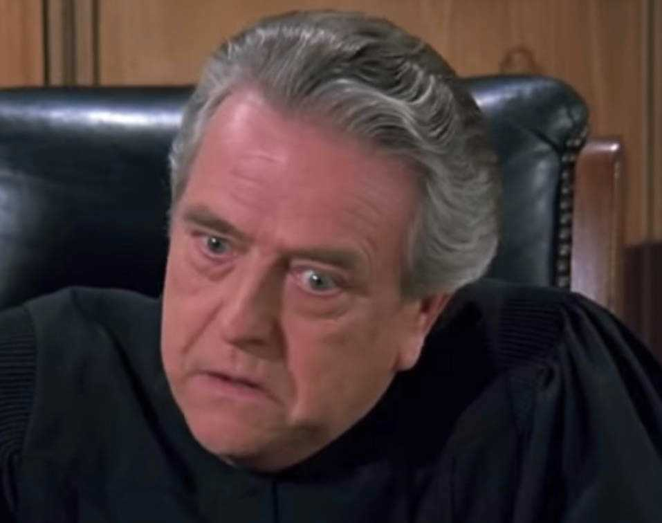"""Anderson i sista avsnittet av """"Seinfeld""""."""