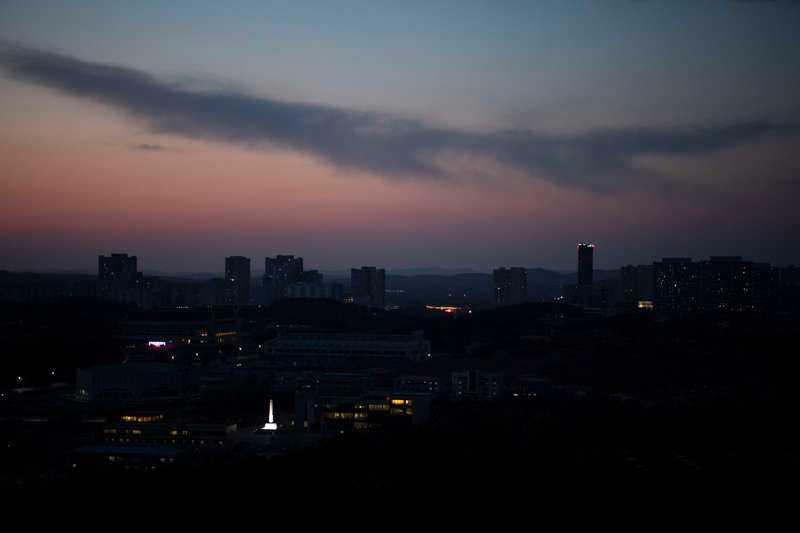 Ambassaden i Pyongyang utarbetade en krigsplan.