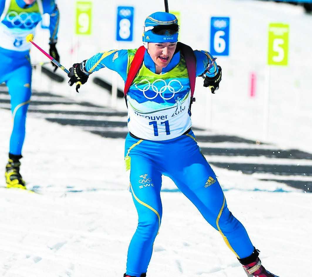 Anna Carin Olofsson-Zidek får inte åka längdstafetten.
