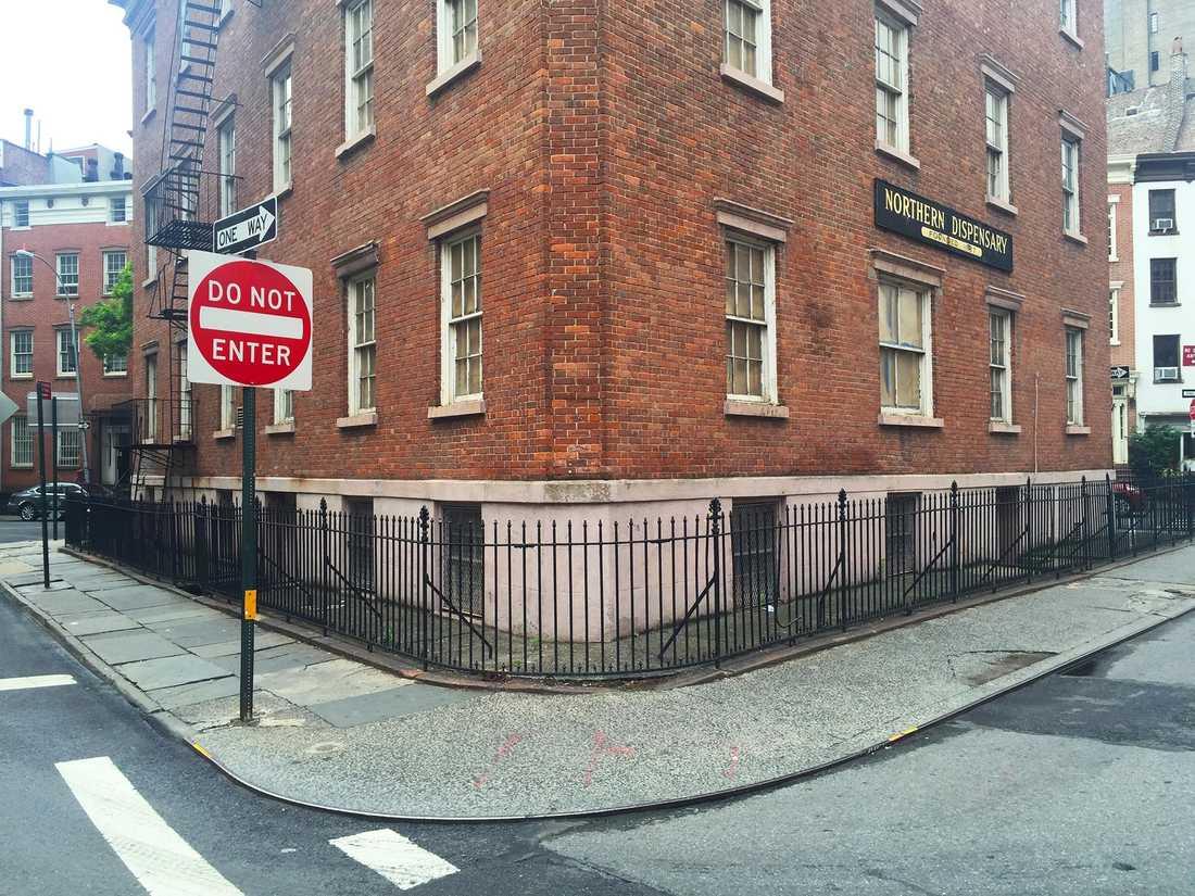 Det övergivna huset i West Village