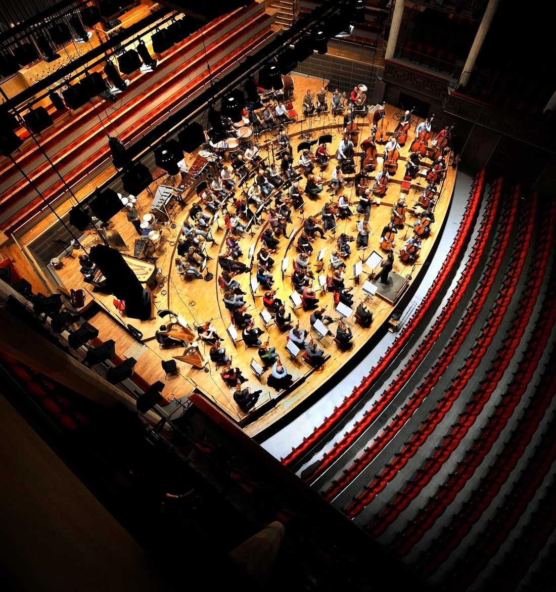 Kungliga filharmonikernas konserter går att följa på Konserthuset play. Arkivbild.