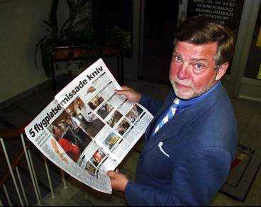 - Helt otillfredsställande, säger försvarsminister Björn von Sydow om att fem flygplatser, fyra svenska och danska Kastrup, missade kniven i handbagaget.