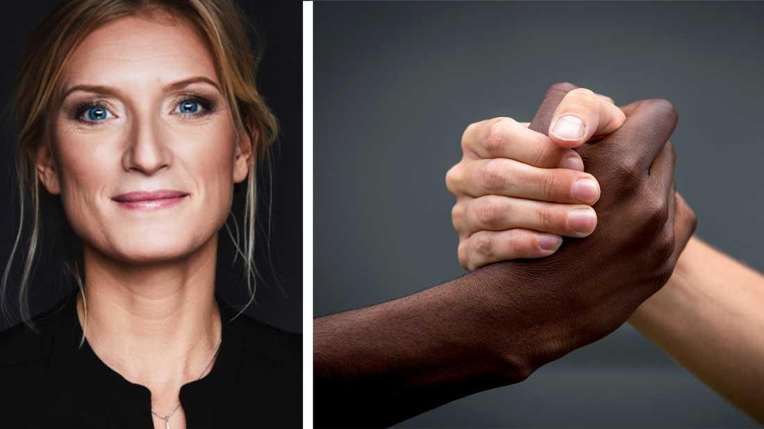 Vita kan också utsättas för handlingar och fördomar baserade på sin ljusa hudfärg. Men det är inte rasism, skriver debattören.