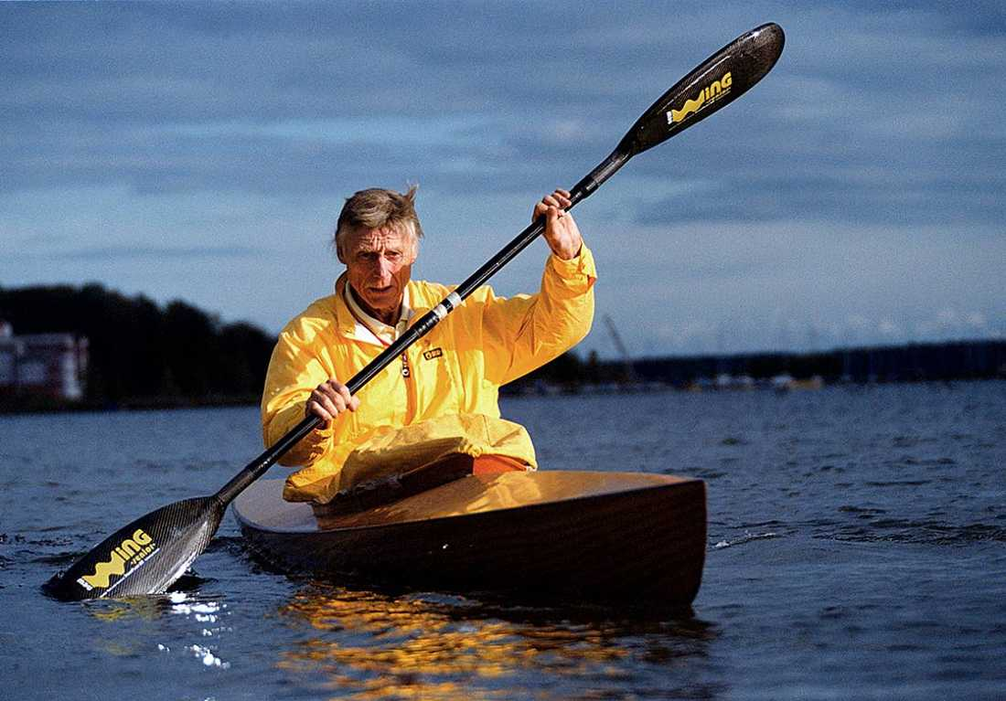 Gert Fredriksson har tagit många OS-guld.