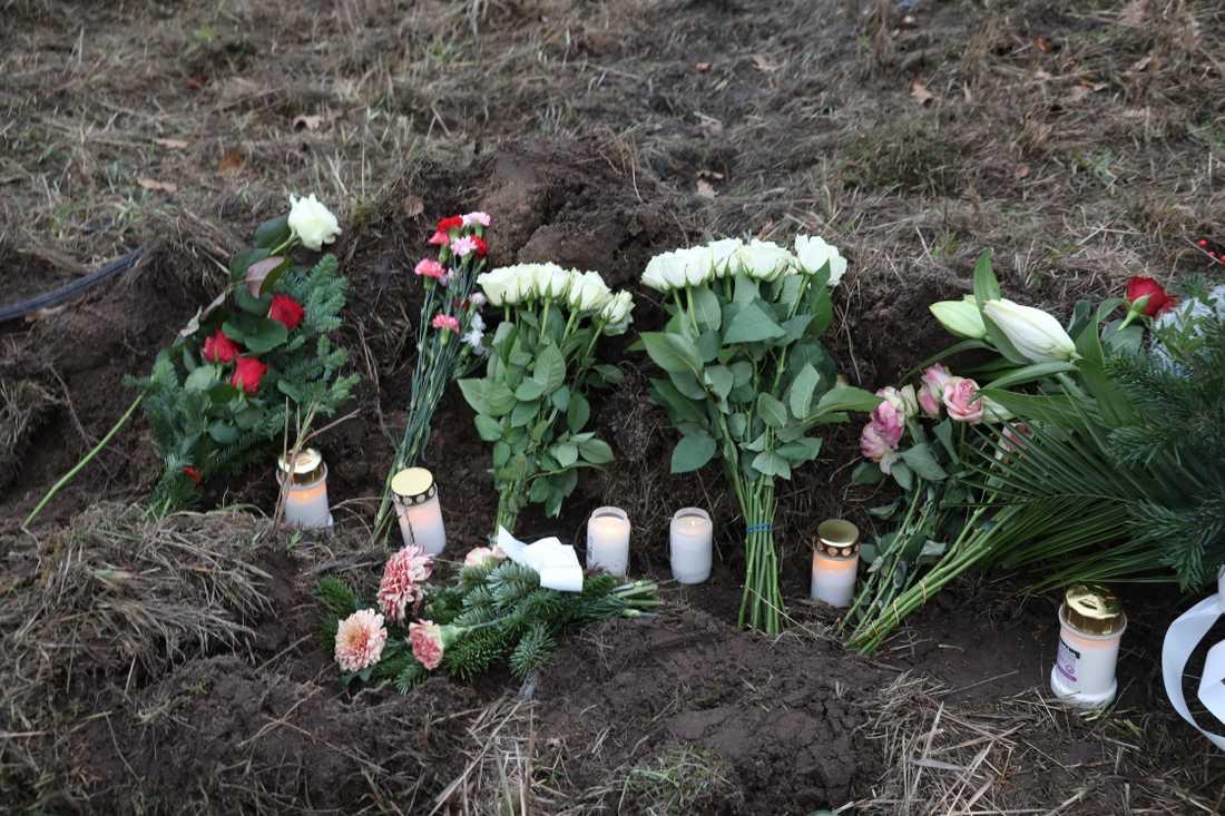 Polisbilen voltade av Axel Danielssons väg klockan 20.27 på tisdagskvällen.