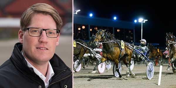 Svensk Travsports sportchef Petter Johansson.