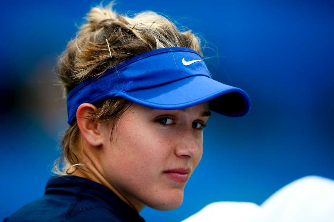 Tennisstjärnan Eugenie Bouchard.