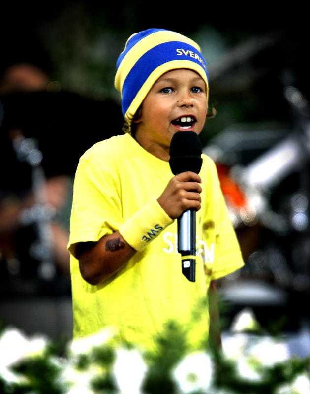 """Gör comeback Frans Jeppsson-Wall, då sju år gammal, fick en hit med Zlatan-låten """"Who's da man"""" 2006."""