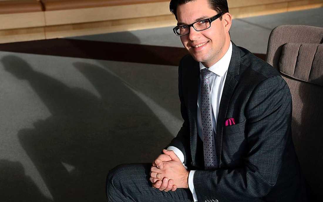 Sverigedemokraternas partiledare Jimmie Åkesson har siktet tydligt inställt på valet 2014.