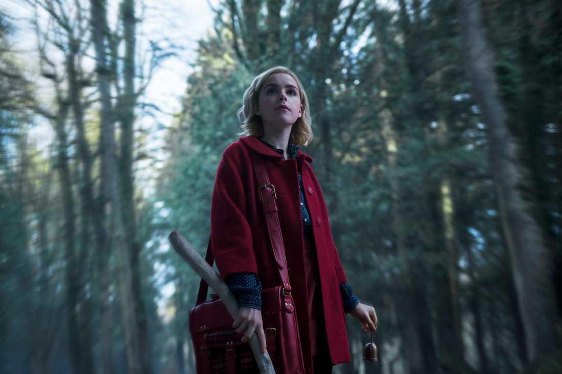 "Kiernan Shipka i ""Chilling adventures of Sabrina""."