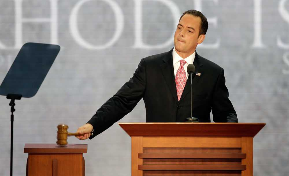 Reince Priebus är favorit att bliden blivande presidentens stabschef