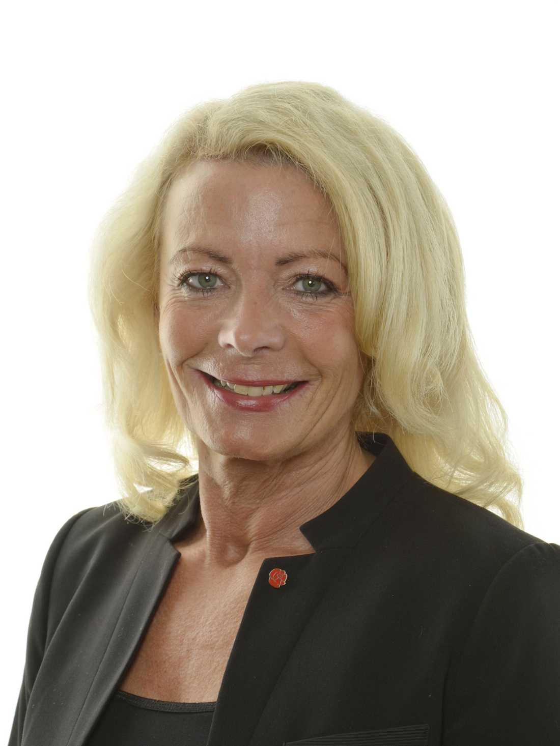 Pia Nilsson, S ordförande i Västmanland.