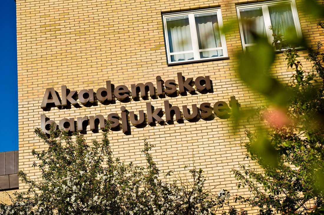 Akademiska sjukhuset i Uppsala.