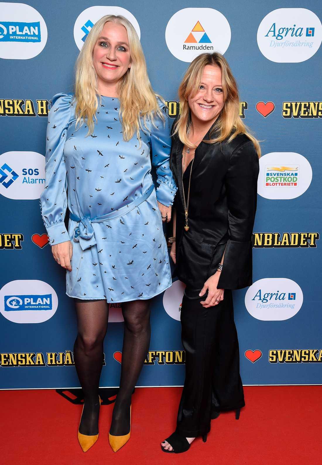 Ann Söderlund och Jenny Engström.