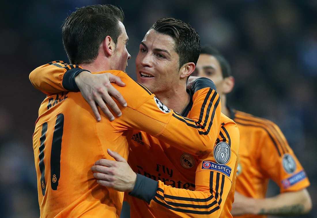 Bale och Ronaldo