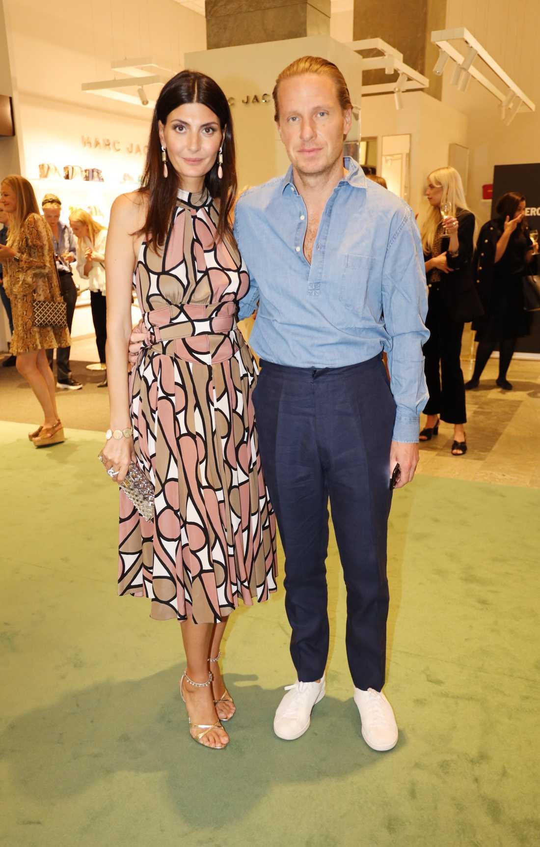Giovanna Engelbert och Oscar Engelbert.