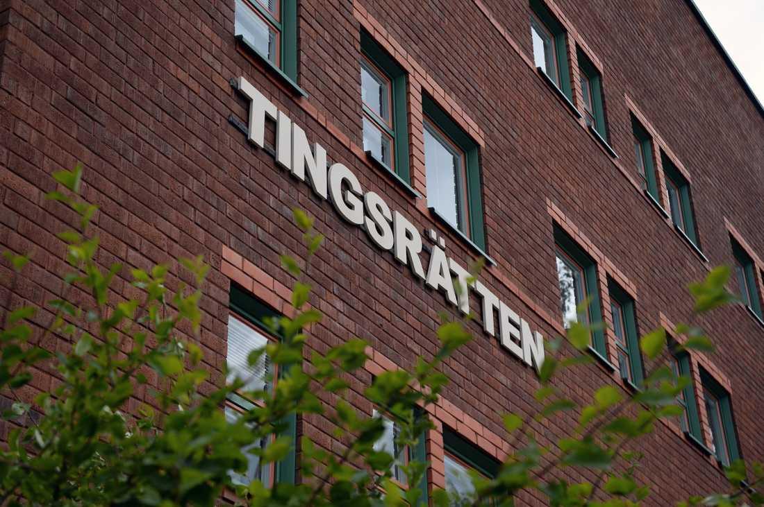Tingsrätten i Östersund, där häktningsförhandlingarna hålls.