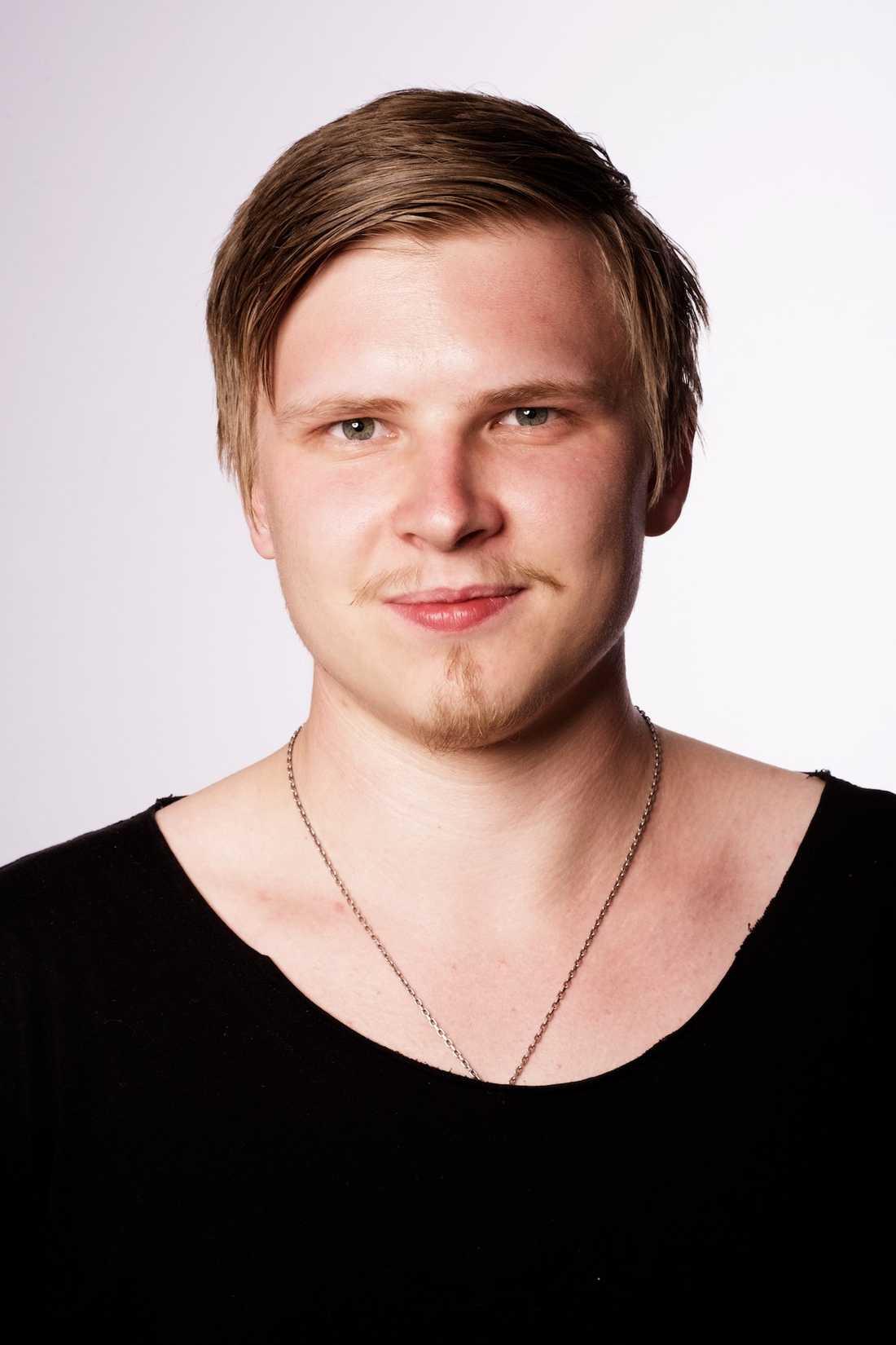 Niclas Hjelm, säkerhetsansvarig på Tradera.