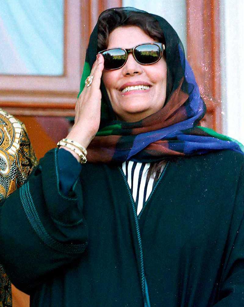 SAFIA FARKASH Muammar Gaddafis andra hustru. Mamma till sju av barnen.