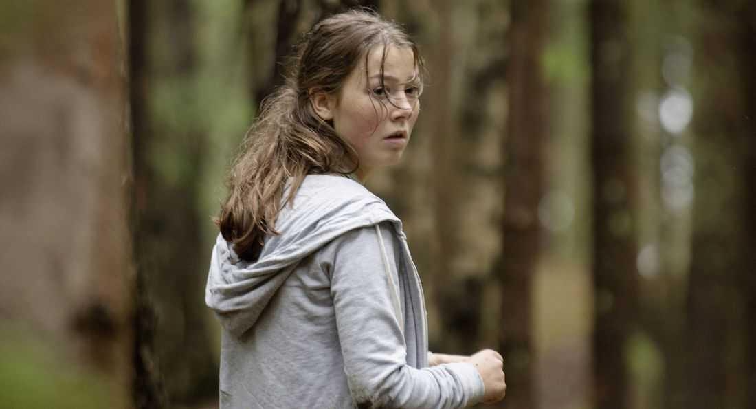 Andrea Berntzen som Katja i filmen  U–22 juli.