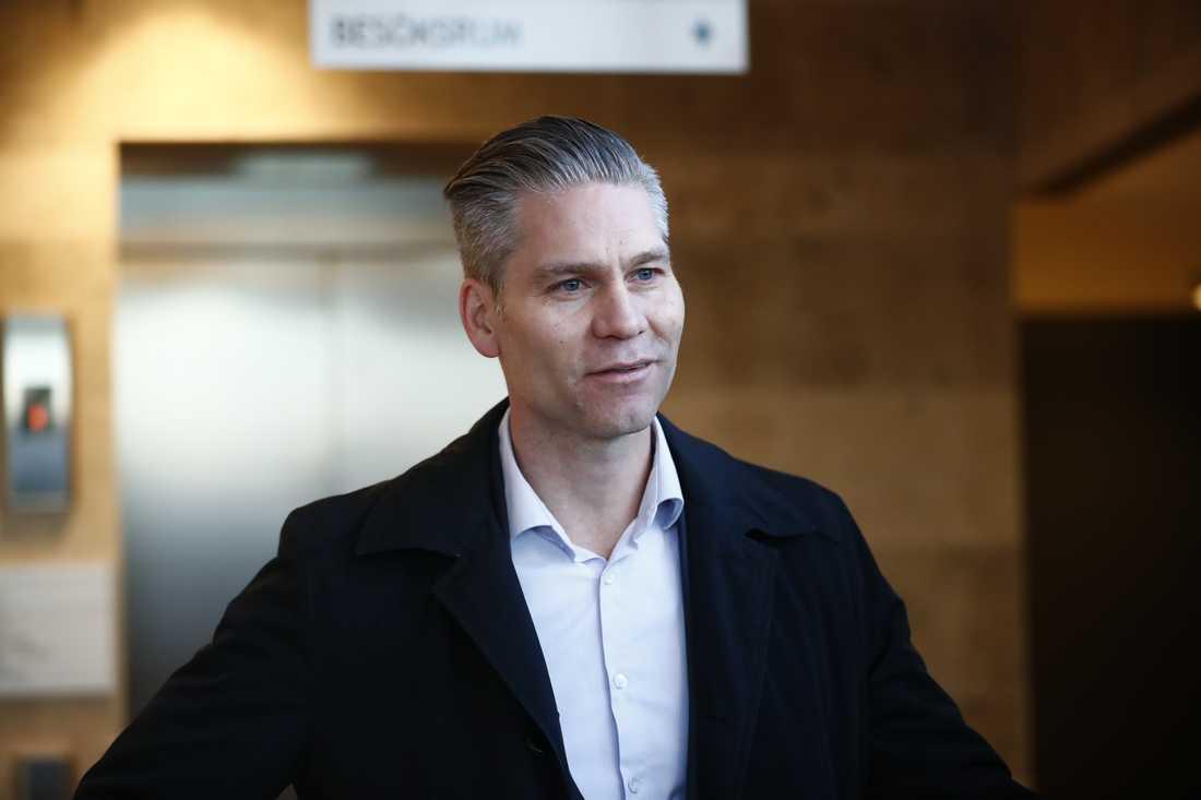 Försvarsadvokaten Martin Cullberg.