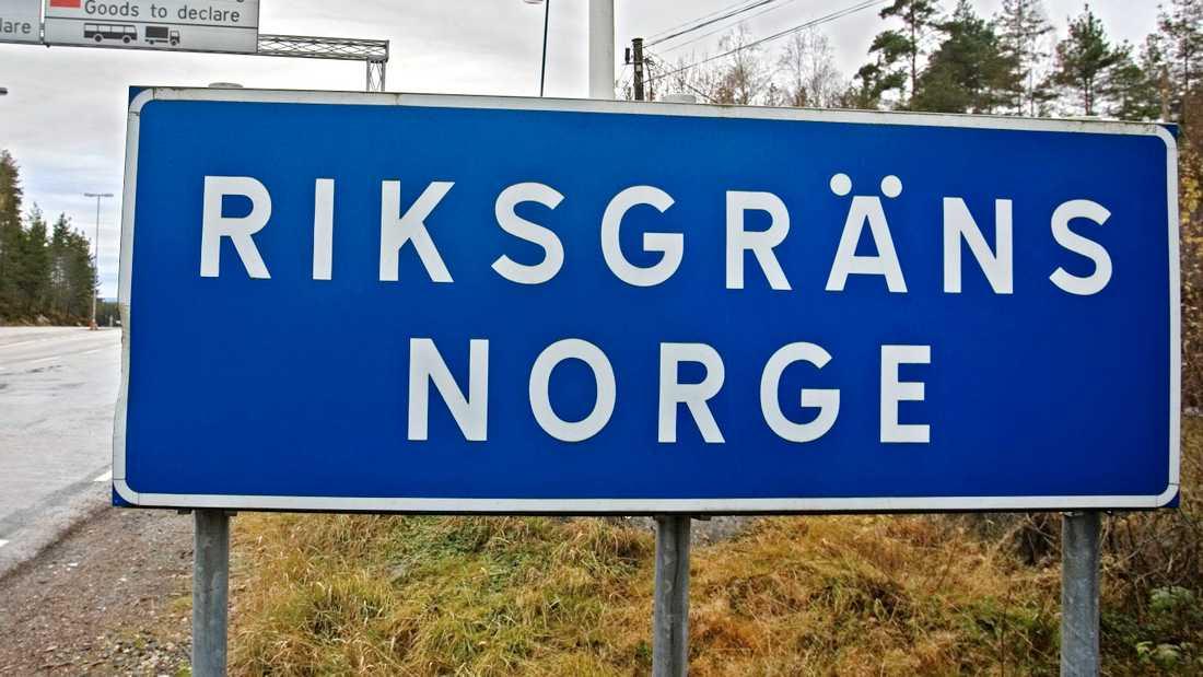 Polismyndigheten i region Bergslagen stänger 19 gränsövergångar från Norge. Arkivbild.
