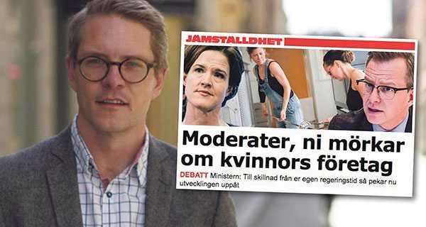 Lars Hjälmered svarar Mikael Damberg.