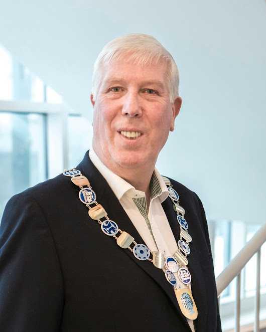 Arnt Abrahamsen, borgmästare i norska Farsund.