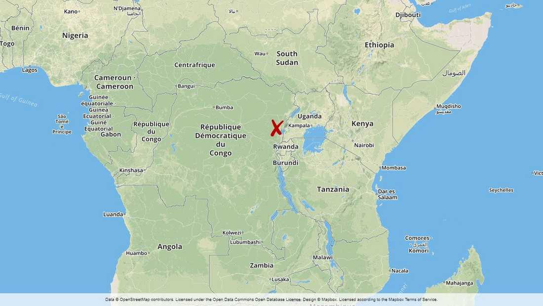 Östra Kongo-Kinshasa är svårt drabbat av terrorattacker från en islamistisk terrorgrupp. Beni, Kongo-Kinshasa