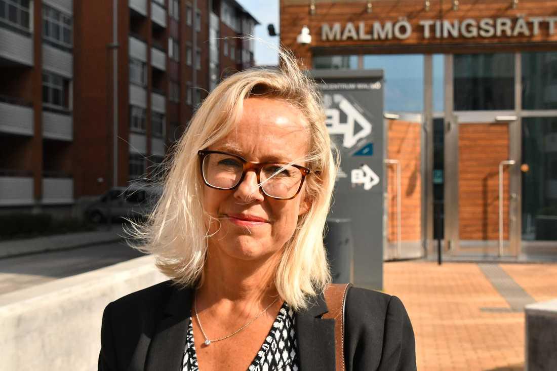 Advokat Therese Ståhlnacke.