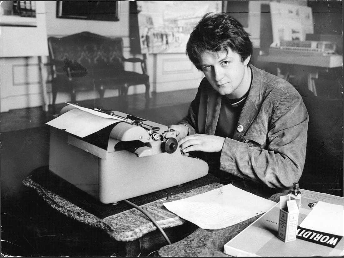 Anders Carlberg, studentledare 1968