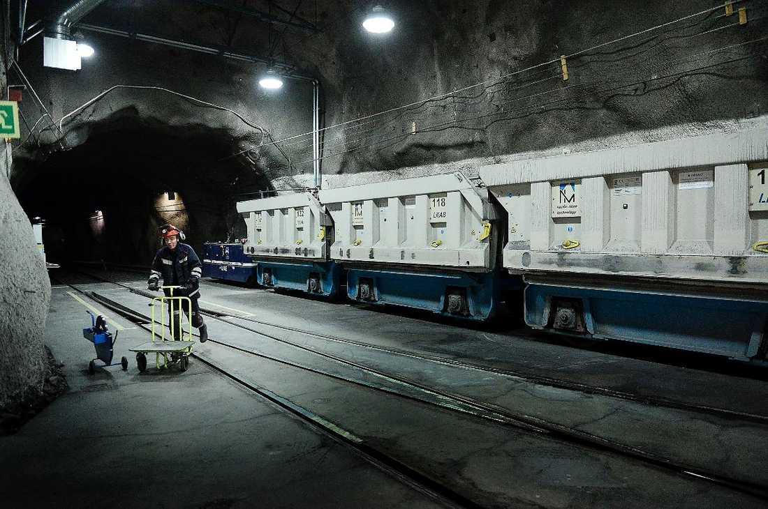 INGET TUNNELSEENDE I Kiruna kretsar livet kring gruvan, men stämningen är inte instängd och inåtblickande.