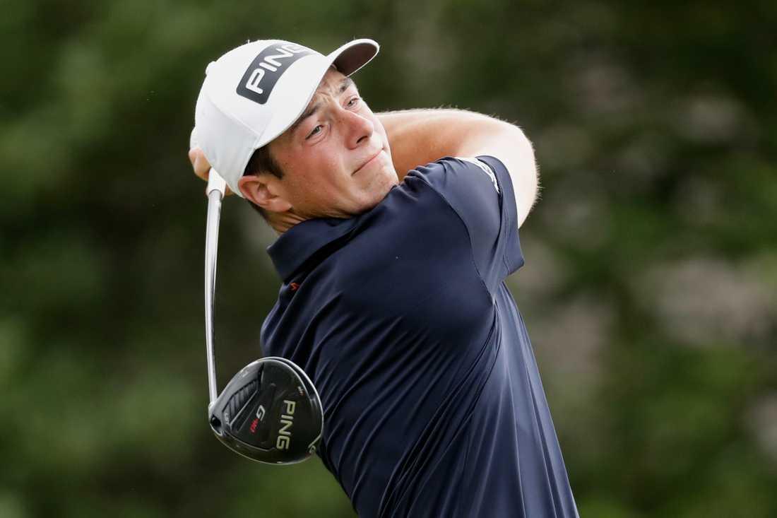 Viktor Hovland spelar PGA-tourens finaltävling på East Lake. Arkivbild.