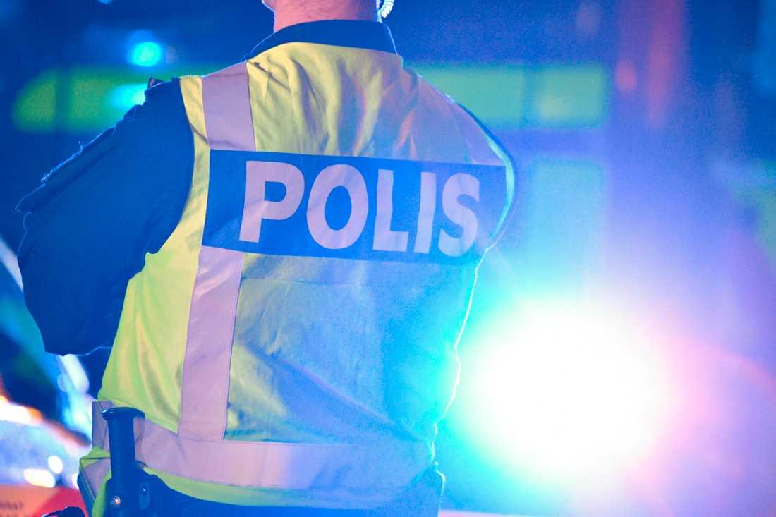 En person tros ha blivit misshandlad med ett vasst föremål i nordvästra Stockholm. Arkivbild.